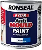Ronseal AMPWS750 Anti Mould Paint White Silk 750ml