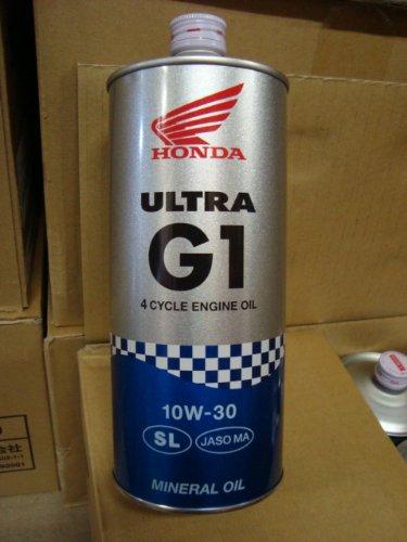Honda(ホンダ) 2輪用エンジンオイル ウルトラ G1 SL 10W-30 4サイクル用 1L 08232-99961 [HTRC3]