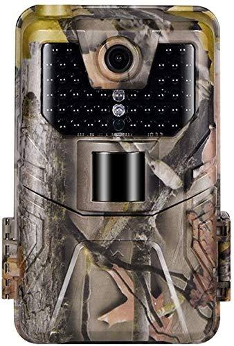 SUNTEKCAM Wild Cámara de Caza 16 MP 1080P FHD Cámara Vigilancia Visión Nocturna IP65 Impermeable 2.0 LCD hasta 20m para Fauna Seguridad Hogar