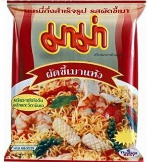 Thai Instant Noodles MAMA Oriental Instant Noodles Pad Kee Mao Flavour - Pack 6
