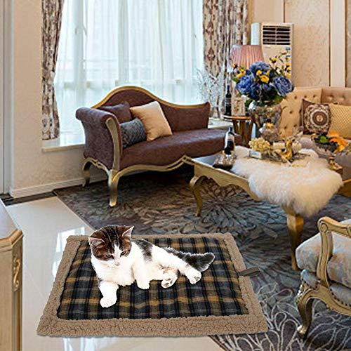 Fancylande Xplosie-kussen, vrijstaand, super zacht, comfortabel, wasbaar, voor katten, honden, puppy's, elektrische deken, waterdicht, verwarming, verwarming voor thuis