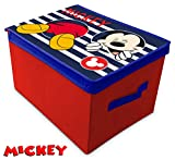 Suncity Mickey Caja Guarda Juguetes Plegable, 40 X 30 X 25 Cm