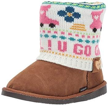 Muk Luks Girl s Patti Boots Fashion Pink 3