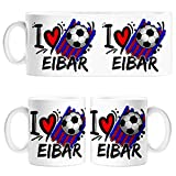 Diver Tazas Taza I Love Eibar fútbol - Cerámica