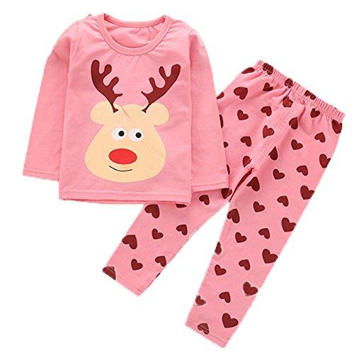 OHmais Bébé fille garçon Unisexe Grenouillère combinaison pyjamas coton