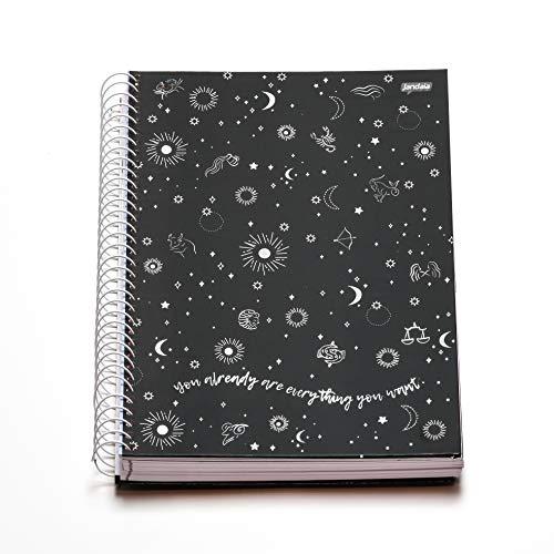 Caderno Espiral Capa Dura Universitário 10 Matérias Mystic You Already 160 Folhas, Jandaia