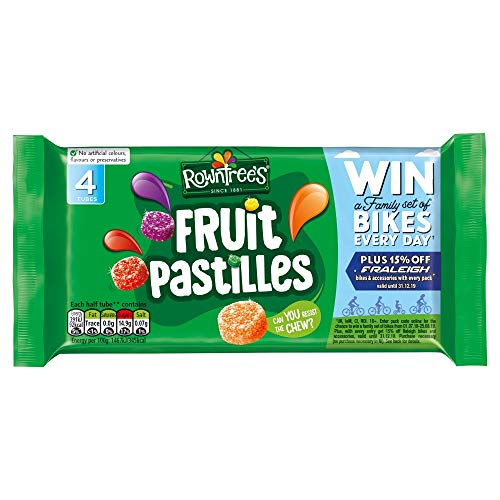 Rowntree's Fruit Pastilles Sweets, 4x52.5g