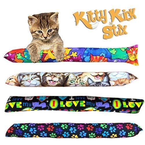 Kitty Kick Stix 15' Original Catnip Kicker Toy (Set of 2) (Mystery)