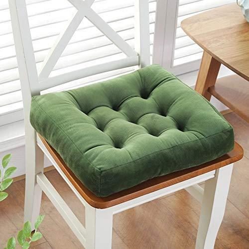DAGCOT Silla de oficina del amortiguador de asiento Comfort almohadilla del amortiguador de la silla de ratón cojín de asiento, Súper Presidente transpirable suave del amortiguador, Espesar Cojín de s