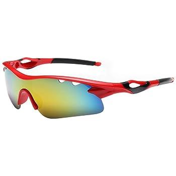 Gafas de Sol para Ciclismo Protección UV Polarizadas Ligeras Moto Hombre e Mujer Gafas polarizadas, Correr e Bici Gafas Deporte: Amazon.es: Deportes y aire libre