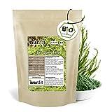 nur.fit by Nurafit Espirulina en polvo ecológica 1kg - Alga espirulina sin aditivos de cultivo ecológico controlado - Espirulina en polvo para smoothies verdes, alimento crudo de calidad