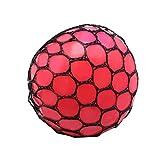 Wuqiong Anti Stress Squeeze Ball UVA UVA diversión Splat del Juguete de ventilación relevista Juguete Gadgets Color al Azar