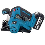 Metal Cutting 9.25' Circular Saw Cordless, 1580W Electric Concrete Saw, DIY Projects - Cut Drywall, Tile, Metal, Pipes, PVC, Plastic, and Copper