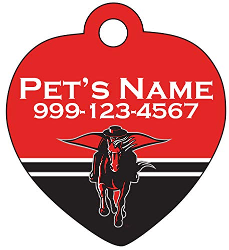 Texas Tech Red Raiders Pet Id Tag for Dogs & Cats | Officially Licensed | Personalized for Your Pet