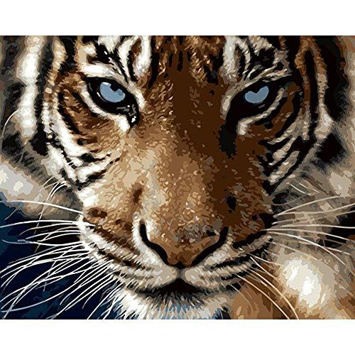 YDPTYANG Adultos Madera Puzzle 1000 Piezas Animales Tigres Niños Juego Clásico Ocio Arte Toys Puzzles