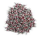 Winomo - Confezione di 100 valvole Stem Core per pneumatici di auto, camion, moto, pezzo di ricambio