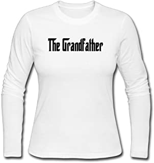 4d517a14 Fangner Funny Women Grandfather Fathers Day Gift Grandpa Long Sleeve T Shirt