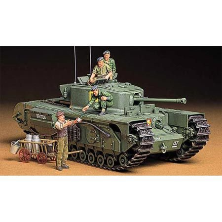 The Hobby Company Tamiya 1 : 35 Infantrie Char Britannique MK. IV Churchill MK. VII (Version Anglaise)