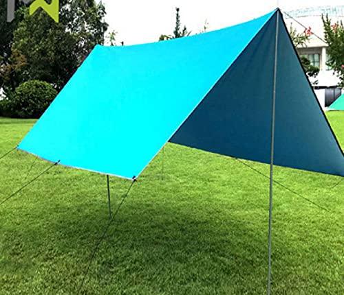 Tienda De Playa Camping Portátil Plegable Toldo Al Aire Libre Dos Tipos Construcción Impermeable Y Anti - Ultravioleta Adecuado para La Cena Familiar Pesca Jardín Playa Arena (3m * 3m * 2m)
