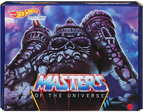 Hot Wheels Masters of the Universe 5-Pack of 1:64 Scale Character Cars, Collectible Vehicles Inspired by He-Man, Skeletor, Man-At-Arms, Beast Man & Teela, Gift for Collectors, Fans & Kids Ages 3 Years