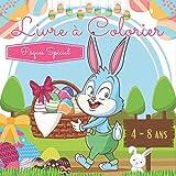 Livre à Colorier Pâques Spécial:...