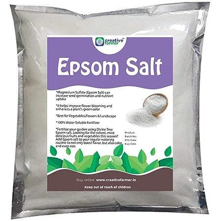 Creative Farmer Epsom Salt 1Kg for Plants in Garden