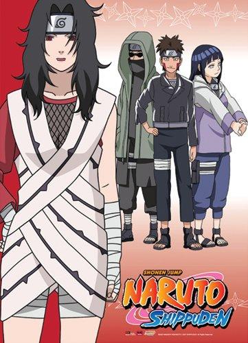 Naruto Shippuden Team Kurenai Wall Scroll