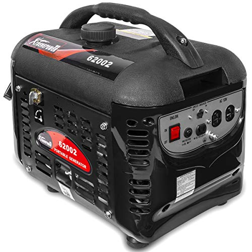 XtremepowerUS 2000W Portable Gas Generator 4-Stroke Emergency Gasoline Camping RV Tailgating Low dB Rating (EPA Approved)