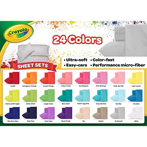 Crayola Jungle Green Full Sheet Set