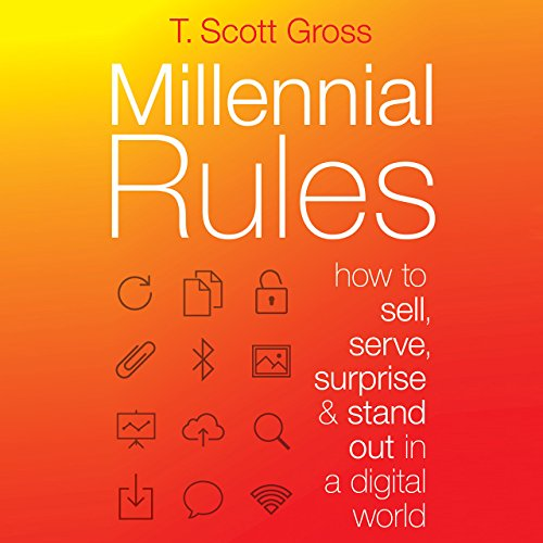 Millennial Rules audiobook cover art