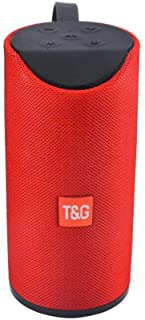 TG113 Outdoor BT Portable Speaker Wireless Mini TF Card and USB Disk Loudspeaker Red