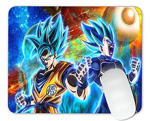 Timing&weng Dragon Ball Super Saiyan Mouse pad Gaming Mouse pad Mousepad Nonslip Rubber Backing