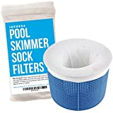 Impresa Products 10-Pack of Pool Skimmer Socks - Perfect Savers for Filters, Baskets, and Skimmers - The Ideal Sock/Net/Saver to Protect Your Inground or Above Ground Pool