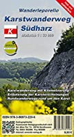 Karstwanderweg Suedharz 1:33 000: Reiss- und Wetterfestes Wanderleporello