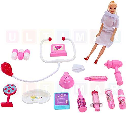 BSD Kit médical pour Les Plus Jeunes avec Une poupée