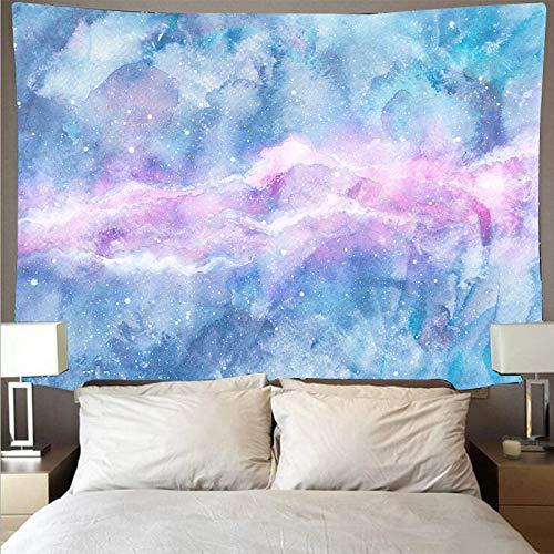 KHKJ Tela de Pared Pintada de Colores de fantasía, Tapiz de Arte psicodélico para Colgar en la Pared, Toalla de Playa, Manta Fina A3 200x180cm