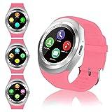 FENHOO Smartwatch SN05 Rotondo Smart Watch con slot per scheda SIM, Touch Screen Contapass...