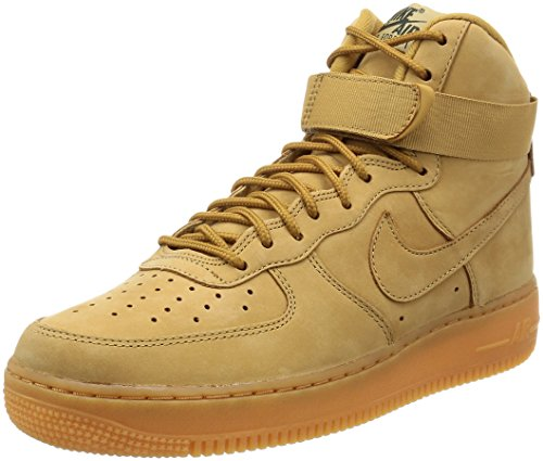 Nike Herren Air Force 1 HIGH '07 LV8 WB 882096 Hohe Sneaker, Mehrfarbig Brown 001, 45 EU
