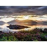 Trienke Sunset Loch Linnhe Highland Scotland Photo Extra