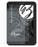 Bruni Schutzfolie kompatibel mit Tolino Shine 2 HD Folie, glasklare Bildschirmschutzfolie (2X)