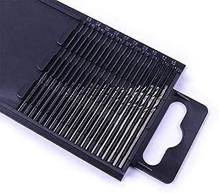 XT AUTO 20Pcs 0.3-1.6mm Shank Mini Micro Drill Bit Set Twist Drill DIY Kit Rotary Hand Tools