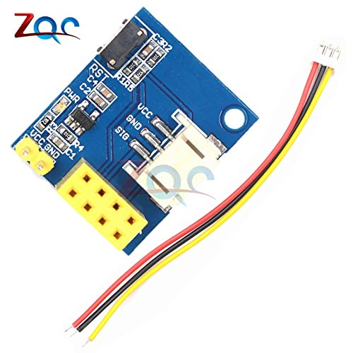 ESP8266 ESP-01 ESP-01S RGB LED-Controller-Modul für Arduino IDE WS2812 Light Ring Smart Electronic Christmas DIY