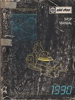 1990 SKI-DOO SHOP SERVICE MANUAL FORMULA PLUS, MACH 1, ELAN, ALPINE,SAFARI (855)