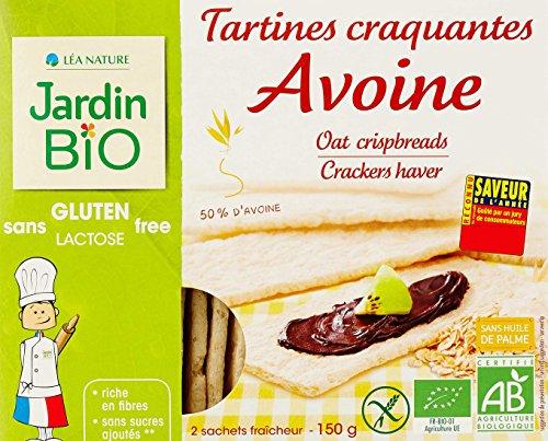 Jardin BiO étic Tartines craquantes Avoine sans gluten