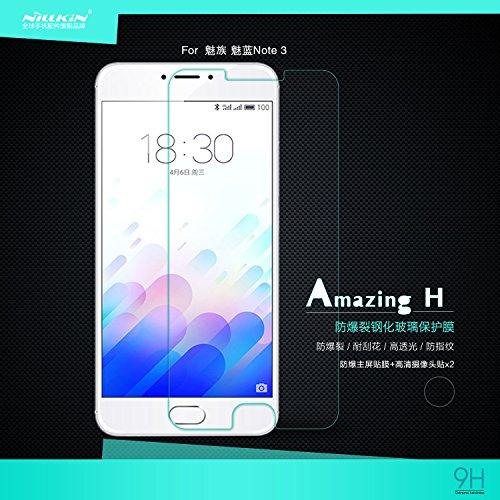 Nillkin Amazing H - Protector de pantalla 9H Cristal templado de 0,3mm para Meizu M3 Note