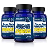 Super Beta Prostate Advanced Prostate Supplement for Men – Reduce Bathroom Trips, Promote Sleep, Support Urinary Health & Bladder Emptying. Beta Sitosterol not Saw Palmetto. (180 Caplets, 3-Pack)