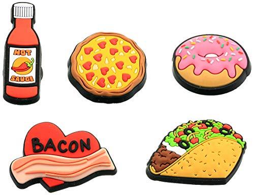 Crocs Jibbitz Charms Food 5-Packs | Jibbitz for Crocs, Trendy Food, Small