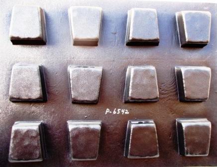 6 Keystone Molds Make 6' x 5' x 4' x 2.5' Thick Driveway or Patio Pavers