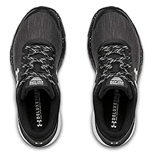 Under Armour Women's Charged Escape 3 Evo Running Shoe, Black, 8 M US