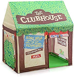Green tree house portable peincess castle play tent with mat activity fairy house fun indoor outdoor playhouse toy